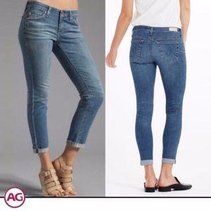 AG | Stilt Roll-Up Cigarette Jeans (10 year wash)